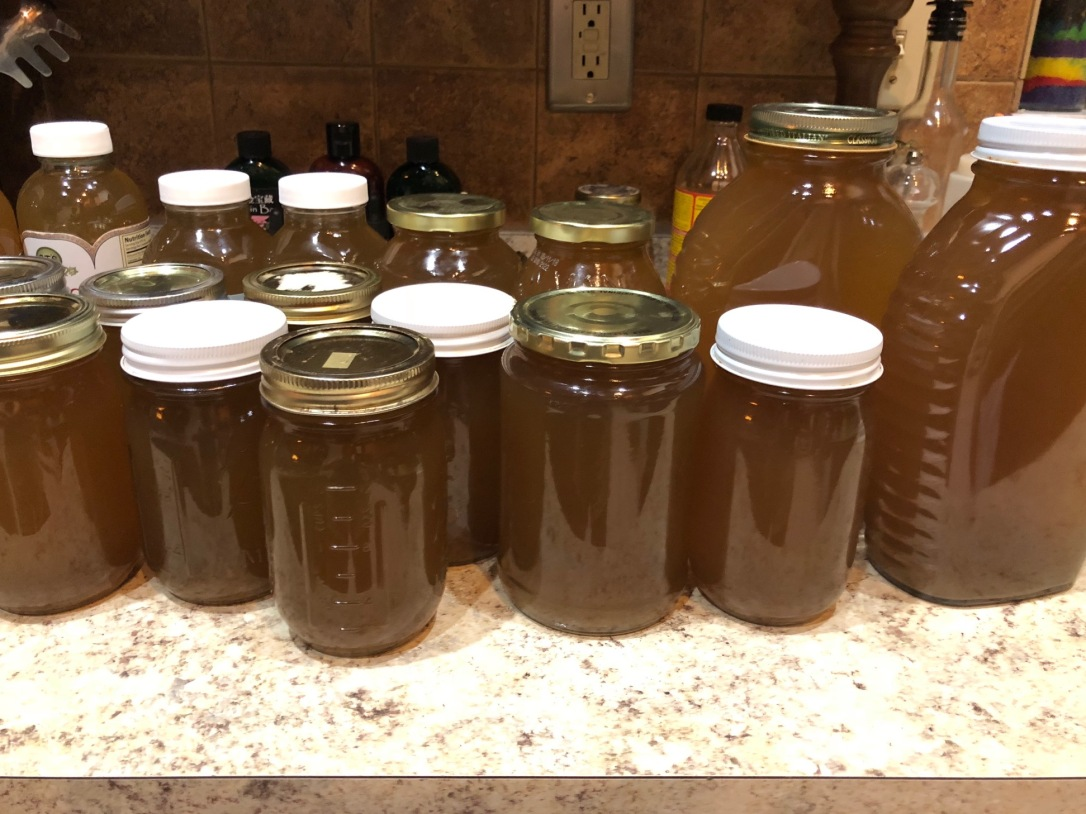 veg broth jars
