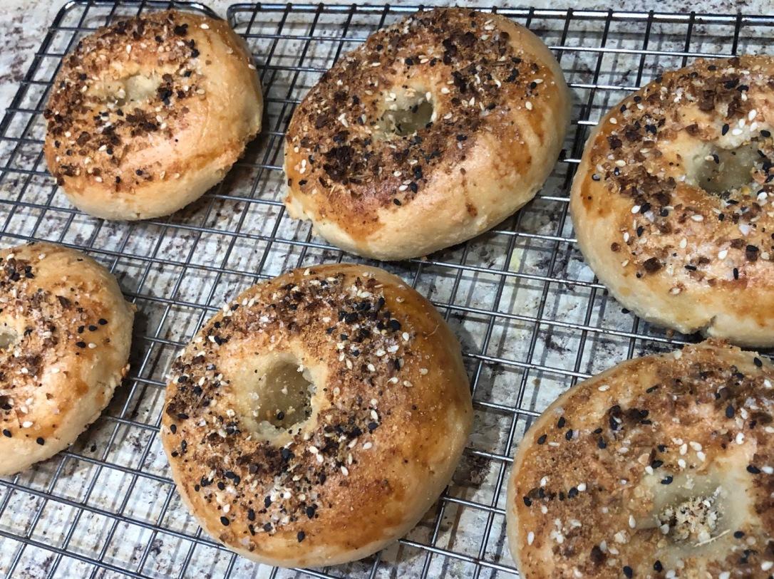 grain free vegan bagels