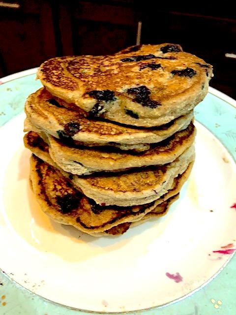 grain free vegan pancakes